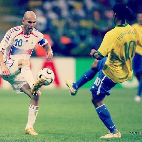 The difference between a great soccer player and a good one