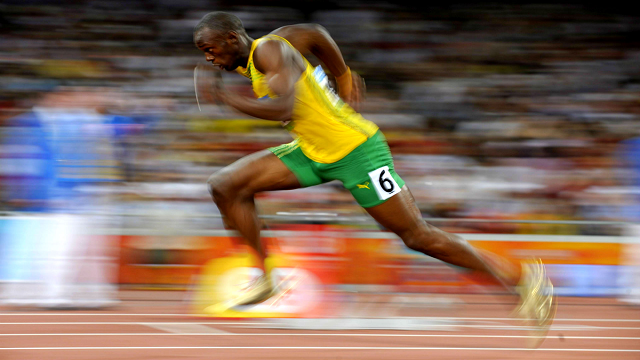 decorative image of Usain Bolt dorsiflexion